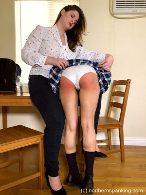 Northern Spanking - Dorothy's Strict Tutor - Part One - image 7