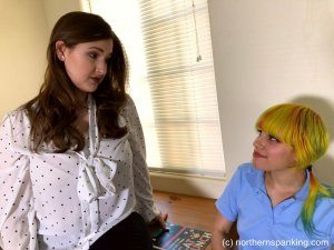 Northern Spanking - Dorothy's Strict Tutor - Part One - image 5