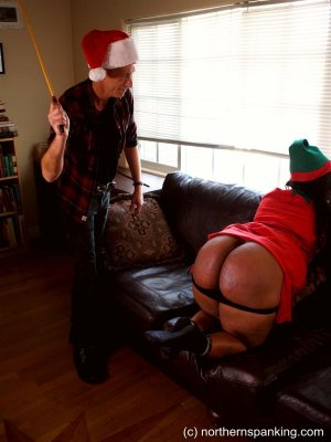 Northern Spanking - Hd Films - Sunnie's Christmas Caning - image 2
