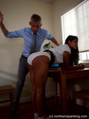 Northern Spanking - A Caning For Cleo - image 3