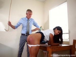 Northern Spanking - A Caning For Cleo - image 8