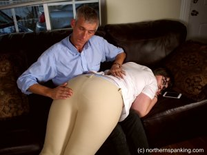 Northern Spanking - Spanked In Her Jodhpurs - image 2