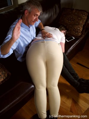 Northern Spanking - Spanked In Her Jodhpurs - image 5