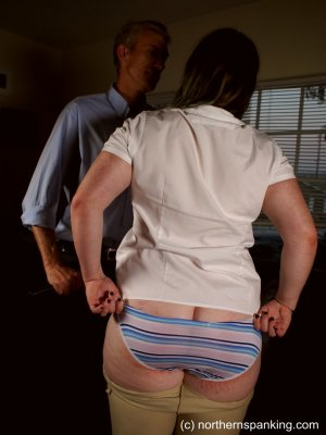 Northern Spanking - Spanked In Her Jodhpurs - image 9