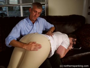 Northern Spanking - Spanked In Her Jodhpurs - image 4