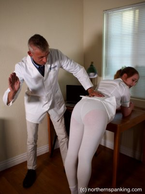 Northern Spanking - The Dedication Of The On-call Nurse - image 4