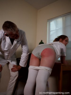 Northern Spanking - The Dedication Of The On-call Nurse - image 13