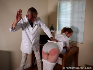 Northern Spanking - The Dedication Of The On-call Nurse - image 2