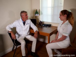 Northern Spanking - The Dedication Of The On-call Nurse - image 1