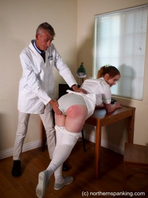 Northern Spanking - The Dedication Of The On-call Nurse - image 18