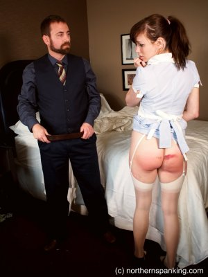 Northern Spanking - Making Time For Punishment - image 9