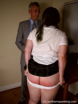Northern Spanking - Cece Gets The Strap - image 9