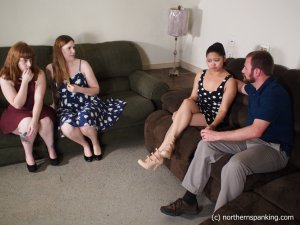 Northern Spanking - Not In Front Of My Friends! - image 9