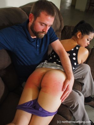 Northern Spanking - Not In Front Of My Friends! - image 4