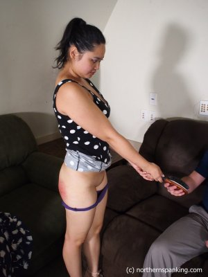 Northern Spanking - Not In Front Of My Friends! - image 5