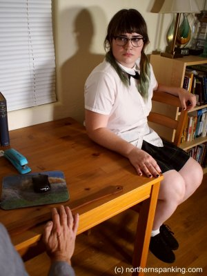 Northern Spanking - Cece Gets The Strap - image 2