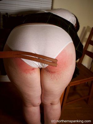 Northern Spanking - Cece Gets The Strap - image 16