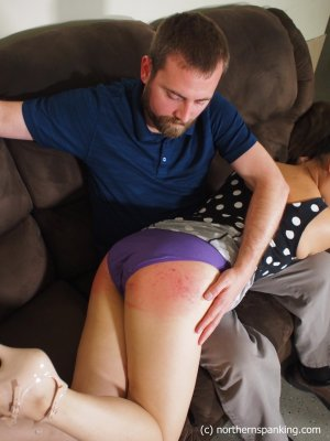 Northern Spanking - Not In Front Of My Friends! - image 7