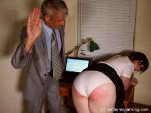 Northern Spanking - Cece Gets The Strap - image 14