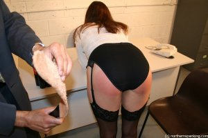 Northern Spanking - Spanking Miss Jones - image 4