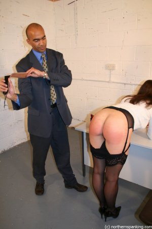 Northern Spanking - Spanking Miss Jones - image 2