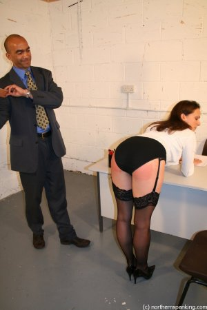 Northern Spanking - Spanking Miss Jones - image 6