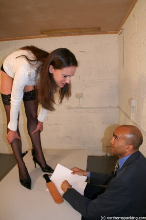 Northern Spanking - Spanking Miss Jones - image 8