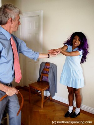 Northern Spanking - A Hand In Her Punishment - image 1