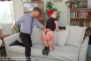 Firm Hand Spanking - Secretarial Challenge - F - image 3