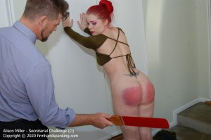 Firm Hand Spanking - Secretarial Challenge - D - image 3