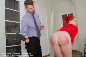 Firm Hand Spanking - Secretarial Challenge - E - image 4
