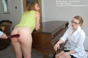 Firm Hand Spanking - Spa Rules - S - image 5