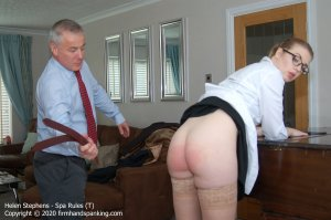 Firm Hand Spanking - Spa Rules - T - image 1
