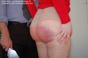 Firm Hand Spanking - Secretarial Challenge - E - image 8