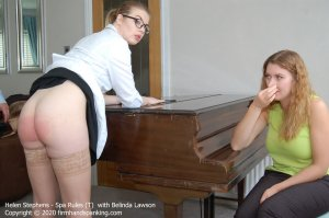 Firm Hand Spanking - Spa Rules - T - image 2