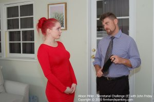 Firm Hand Spanking - Secretarial Challenge - E - image 6