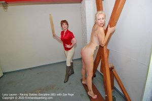 Firm Hand Spanking - Racing Stables Discipline - Bs - image 2