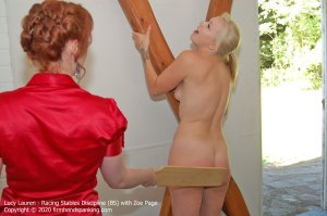 Firm Hand Spanking - Racing Stables Discipline - Bs - image 6