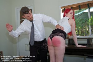 Firm Hand Spanking - Secretarial Challenge - A - image 5