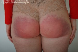 Firm Hand Spanking - Secretarial Challenge - E - image 3
