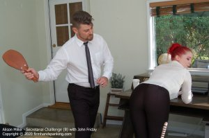 Firm Hand Spanking - Secretarial Challenge - B - image 2