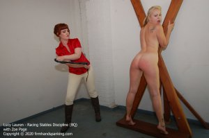 Firm Hand Spanking - Racing Stables Discipline - Bq - image 1