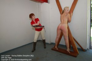 Firm Hand Spanking - Racing Stables Discipline - Bq - image 5
