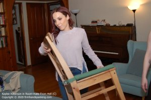 Firm Hand Spanking - Room-mate From Hell - C - image 6