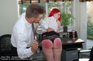 Firm Hand Spanking - Secretarial Challenge - A - image 7