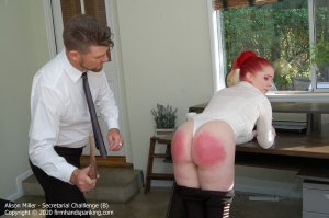 Firm Hand Spanking - Secretarial Challenge - B - image 3