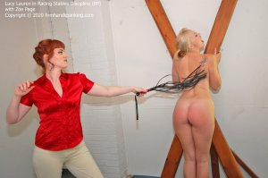 Firm Hand Spanking - Racing Stables Discipline - Bp - image 5