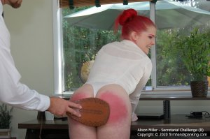Firm Hand Spanking - Secretarial Challenge - B - image 6