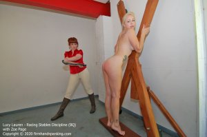 Firm Hand Spanking - Racing Stables Discipline - Bq - image 3