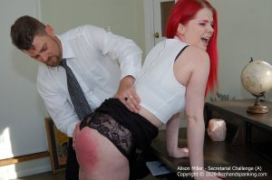 Firm Hand Spanking - Secretarial Challenge - A - image 2
